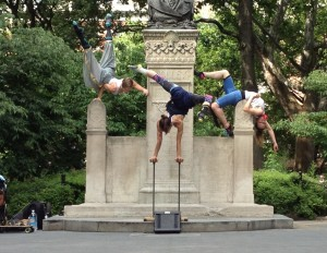 Dancers in Central Park